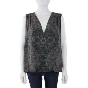 Free People Oversized Fit Sleeveless Blouse Top